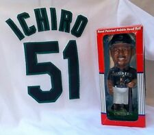 Ichero Suzuki MLB Seattle Mariners Jersey & Bobblehead Figure