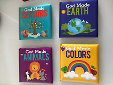 Christian Bible Stories for Kids Toddlers Lot Of 4