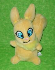 Neopets Yellow Usul Squirrel Bunny Plush Stuffed Animal Toy 2008 Jakks Key Quest