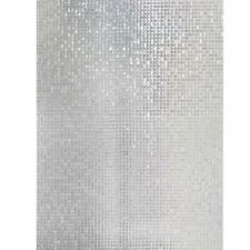 Mosaic PVC Waterproof Anti Oil Frosted Opaque Glass Window Decorative Film SS6