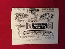 m12z ephemera 1950s advert hamleys ontos walker bulldog nike