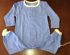 Babysoy Infant Lake Blue Footie Footed Sleeper New 3-6 Months