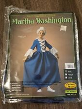 UUU Child Costume Mates Martha Washington Halloween Dress Up Costume Size S