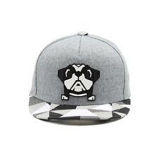 52~54Cm Steelo Baby Bulldog Children Kids Boys Baseball Cap Snapback Hats Gray
