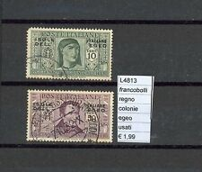 Stamps United Colonies Aegean used (l4813)