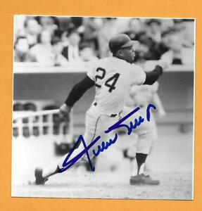 WILLIE MAYS  SIGNED, AUTOGRAPHED PHOTO -SAN FRANCISCO GIANTS--JSA