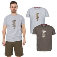 Trespass Mapping Mens T-Shirt Casual Summer Top