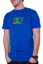 Camiseta DC azul logo verde - XL - PVP 32 € - nueva - autentica - T-shirt