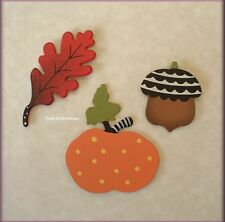 FALL METAL MAGNETS SET OF 3 BY EMBELLISH YOUR STORY FREE U.S. SHIPPING