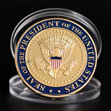 US 45th President Donald Trump Commemorative Coin  Collection Gifts Souvenir CPU