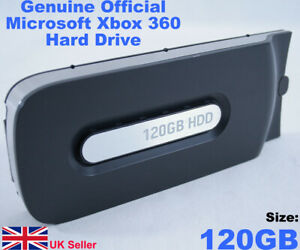 Official Genuine Xbox 360 Hard Drive (120 GB Removable HDD)