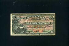 Uruguay 50 centesimos 1934 - VF