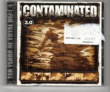 (Hq76) Contaminated 3.0, 51 tracks various artists - 2000 double Cd