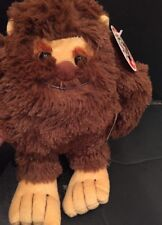"Peek-a-boo Toys 10"" ""Big Foot"" Plush With Tags Excellent Condition"