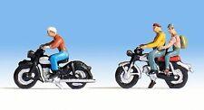 * noch Scala N 36904 Figure omini Personaggi Coppia Motociclisti