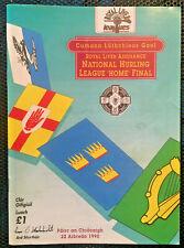 1990 GAA NHL Final KIlkenny v Wexford Programme