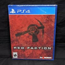 Limited Run Games #281 Red Faction for PS4! SEALED! In-Hand! SHIPS FAST!