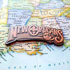 NEW ORLEANS USA - HARD Rock Cafe HRC Destination Name Series FRIDGE METAL Magnet