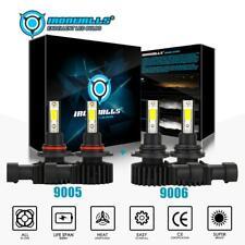 New listing 9006+9005 Combo Led Headlight Kit 4400W 660000Lm Hi-Lo Beam Bulbs 6000K White