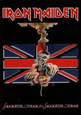 IRON MAIDEN 1988 SEVENTH TOUR OF A SEVENTH TOUR PROGRAM BOOK / EX 2 NM