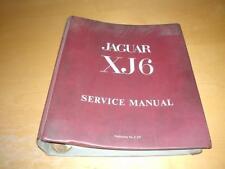JAGUAR XJ6 SERIES I 1 DAIMLER SOVEREIGN Owners Service & Repair Manual Handbook