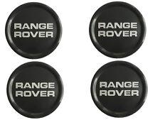 GENUINE OEM LAND ROVER Range Rover Classic Black Wheel Hub Centre Caps Set of 4