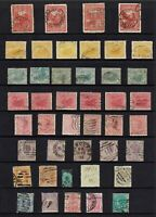 AUSTRALIA PRE-DECIMAL ,STATE STAMPS COLLECTION MIXED STATES...
