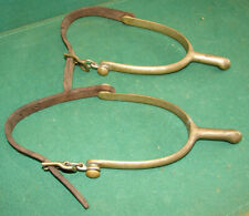 ANTQ U.S. W.L. ARMY MILITARY WHITHORSE (WHITEHORSE) LECOMPTE CAVALRY HORSE SPURS