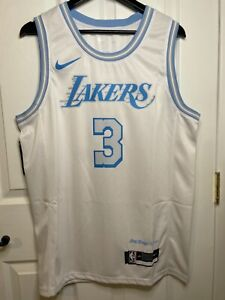 Anthony Davis Jersey Lakers Christmas City Edition Lore Series Elgin Baylor