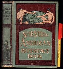 C1904 516 page  SCIENTIFIC AMERICAN REFERENCE hardcover BOOK US World HISTORY