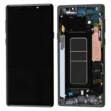Samsung Galaxy Note 9 SM-N960F LCD touch screen Digitizer Display Frame Schwarz