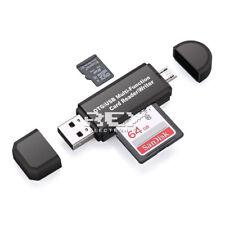 Adaptador USB a Micro USB Lector de Tarjetas SD / Micro SD hasta 64 GB v425