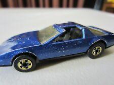 Vintage Pontiac Firebird Hot Wheels Blackwall Blue 1982 Hong Kong