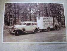 1930'S BUICK? BUCK OWENS  BABY RUTH CANDY KSD RADIO 11 X 17  PHOTO  PICTURE