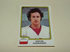 N°127 STEFAN CHOWANIEC POLSKA PANINI HOCKEY 79 ICE GLACE 1979 CHAMPIONNAT MONDE