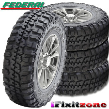 4 Federal Couragia M/T 35x12.50x15 Mud Tires LT35X12.50R15 6 Ply 113Q NEW