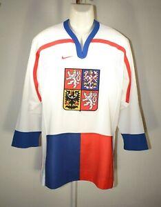 Ice Hockey Jersey Czech Republic National Team Mens Medium NIKE