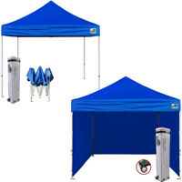 EZ Pop Up Canopy Party Tent 10x10 Wedding Tent Shelter W/N Removable Walls