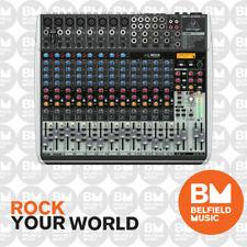 Behringer XENYX QX2222USB Mixer Small Format 22 Input w/Multi FX Audio Interface