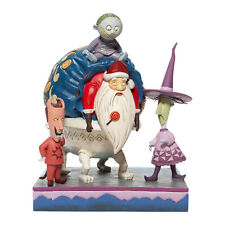 Disney Jim Shore 2020 NBC Nightmare Sandy Claws Lock Shock & Barrel  Figurine