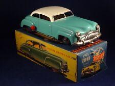 Ancien jouet voiture tôle mécanique electro-car Distler 7000 W. Germany 1950