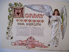 """Exquisite 1891 Advertising Calendar for """"The Youth's Companion"""" Newspaper *"""