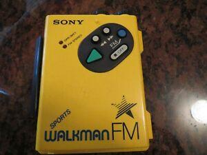 SONY SPORT WALKMAN FM CASSETTE PLAYER WM-F5 FOR Parts