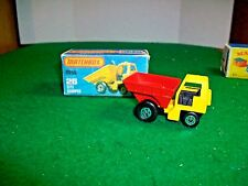 Vintage Lesney Matchbox 75 Super Fast #26 Site Dumper with Box