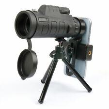 Telephoto / Monocular / Zoom Lens Kit For Smartphones With Mini Tripod & Bag