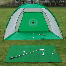 2M Foldable Golf Practice Driving Chipping Hitting Net System Aid Training Cage