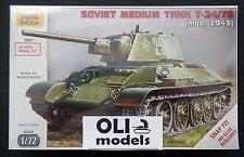 1/72 Soviet Medium Tank T-34/76 Mod.1943 - Zvezda 5001