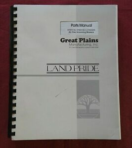 GREAT PLAINS AFM 40133 40168 40200 ALL FLEX GROOMING MOWERS PARTS CATALOG MANUAL