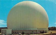 "ANDOVER, ME Maine  EARTH STATION~Radome ""Big Bubble"" TELEPHONE  c1950's Postcard"