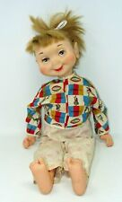 Vintage American Doll Co Whimsies Doll In Tillie The Talker Shirt*As Is*Wow!